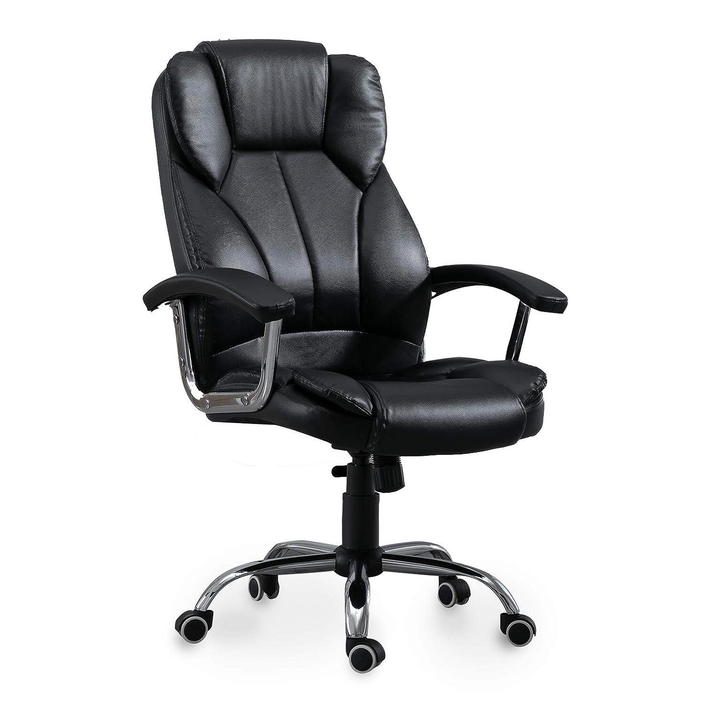 XMAF Bürostuhl Drehstuhl Schreibtischstuhl mit geräumigen Sitzfläche Sitzfläche Sitzfläche und Rückenlehne dcf01f