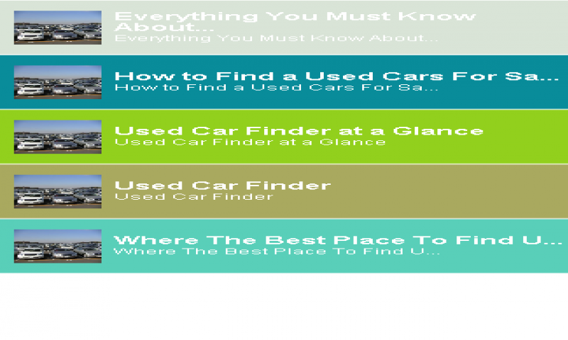 Amazon Com Used Cars Finder Tips Appstore For Android