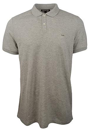 c513bfc40 Michael Kors Men s Mesh Polo Shirt-HG-XL Heather Grey at Amazon Men s  Clothing store