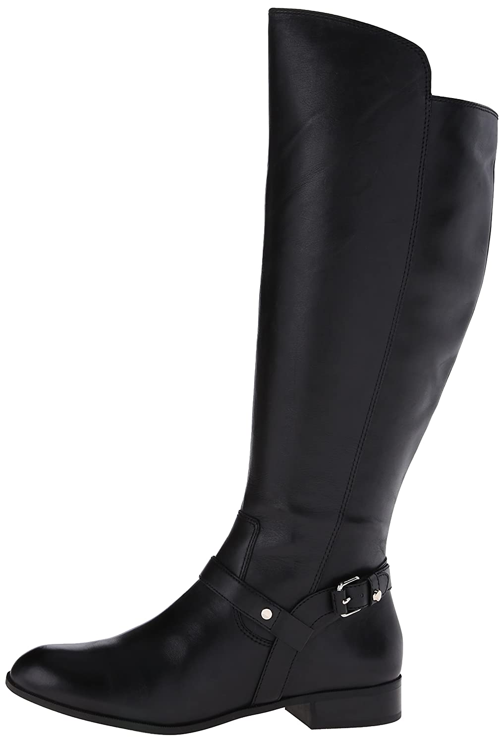 1f5717eaf35 Anne Klein Women's Kahlan Wide Calf Leather Riding Boot