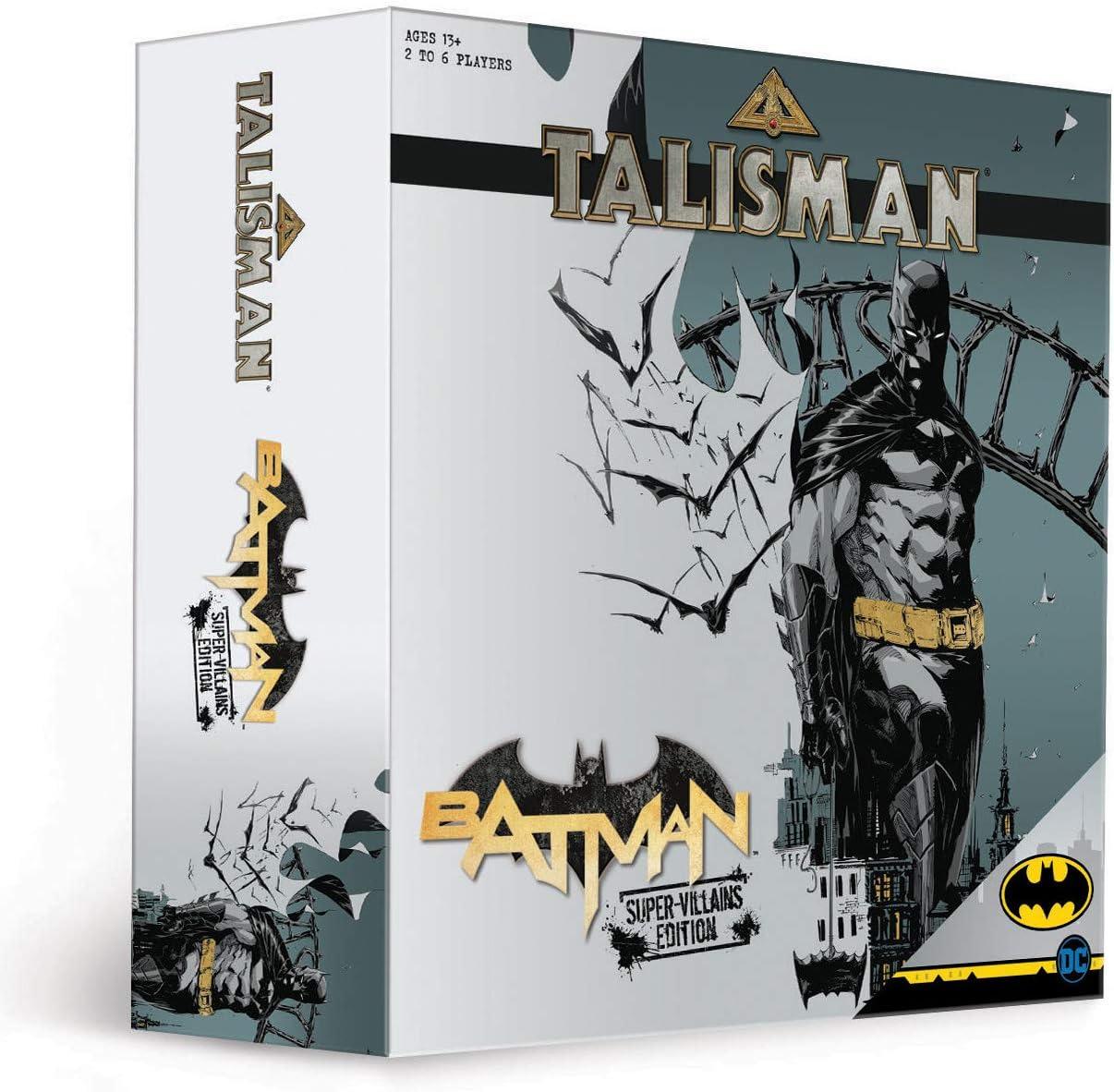 USAopoly Talisman Batman Super-Villains Edition Board Game: Amazon.es: Juguetes y juegos