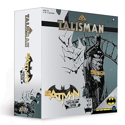 Talisman Batman Super-Villians Edition Competitive Board Game | Based on the Talisman Magical Quest Game | Official Batman Licensed Merchandise | The ...