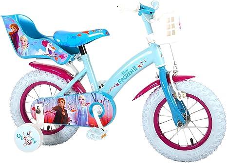 Disney Bicicleta Niña Chica 12 Pulgadas Frozen 2 Frenos al ...