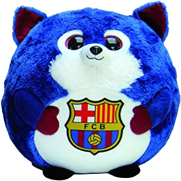 FCB FC Barcelona - Peluche Crack, 30 cm, Color Azul (TY 38537TY)