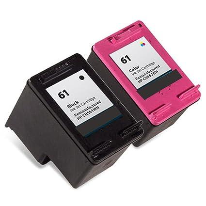 Febe - Cartucho de tinta remanufacturado reemplazo para HP 61 ...