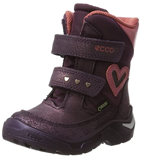 ECCO Baby Girls' Snowride Classic Boots, Purple (Night Shade