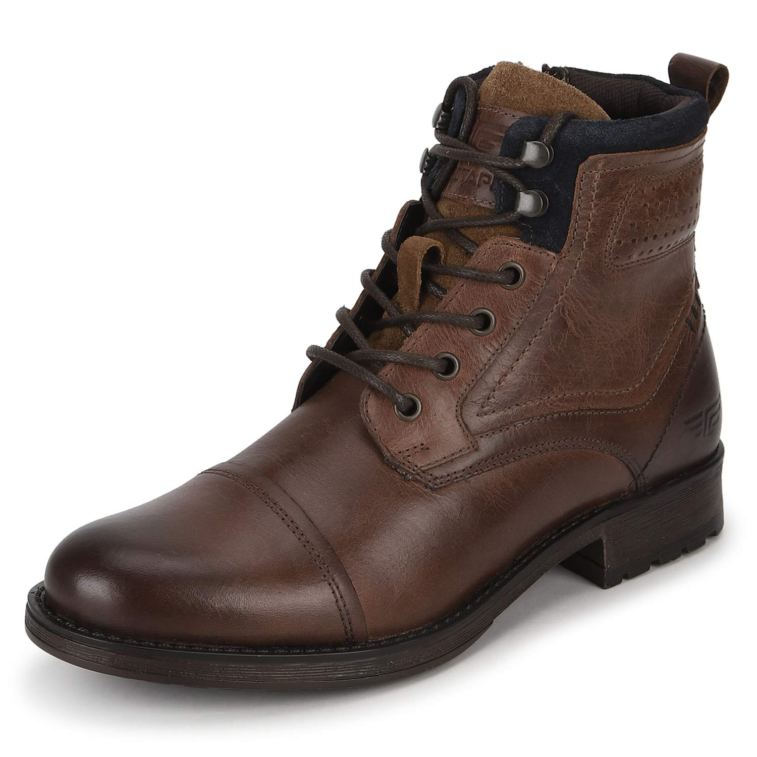Brown Leather Outdoor Boots-8 UK