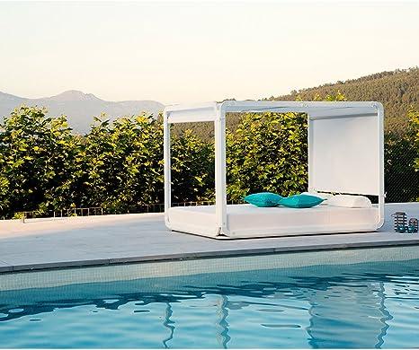 EZPELETA – Cama Pergolas Daybed Alto Ibiza, Gris: Amazon.es: Jardín