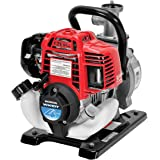 Honda Power Equipment WX10 52 PSI 4-Stroke Commercial Engine Gasoline Powered Water Pump with Hose Adapter, Suction Hose, Cl