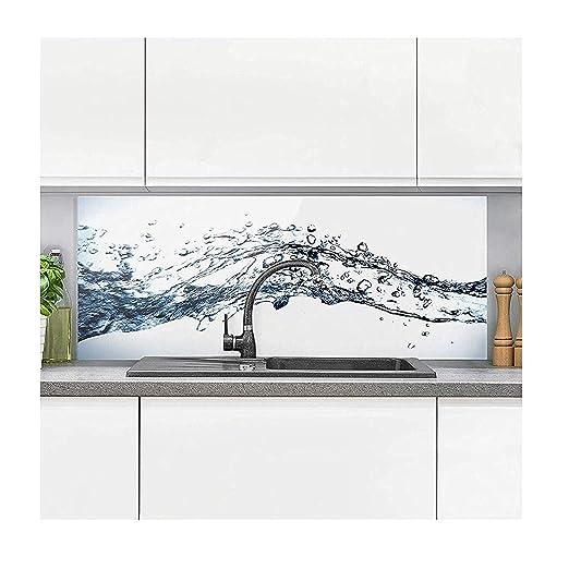 Bilderwelten Paraschizzi in Vetro - Water Splash - Panoramico, Paraschizzi  Cucina Pannello paraschizzi Cucina paraspruzzi per Piano Cottura Pannello  ...