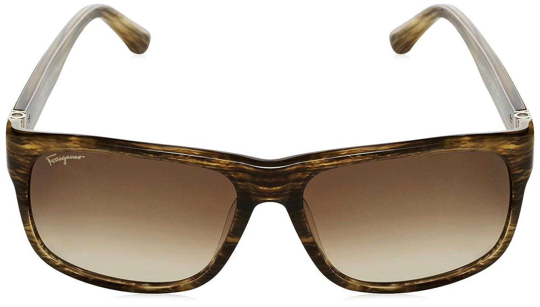Salvatore Ferragamo - Gafas de sol Rectangulares SF639S para ...