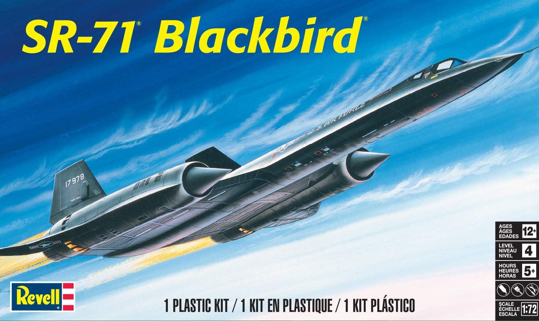 85-5810 Revell-Monogram Multicolor Maquette davion Blackbird SR-71A /échelle 1//72