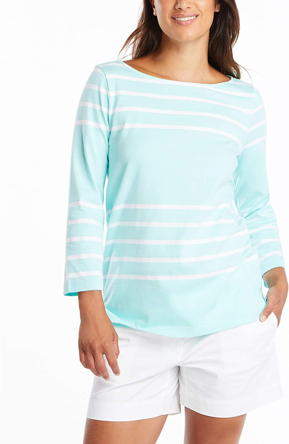Daily Ritual Jersey Bunch-sleeve Top fashion-t-shirts Mujer Marca