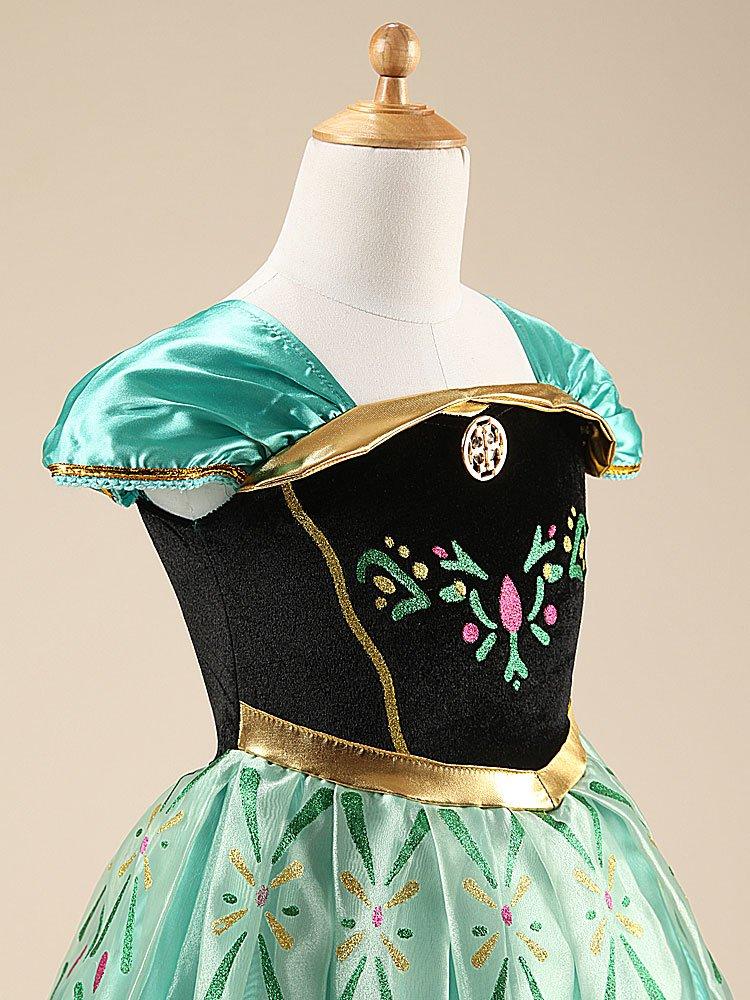Katara - Anna Kostüm-Kleid für Kinder inspiriert von Disney für ...