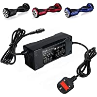 42V 2A PowerFast Charger for Smart Self Balancing Scooter Drifting Board, Universal Power supply Adapter for Electric Unicycle Skateboard Two Wheels Swagway Swagtron Scooter with UK charging cord