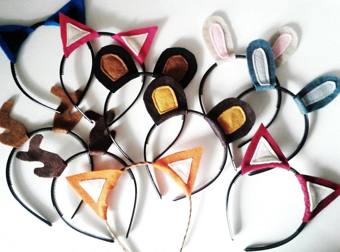 Party Pack, Woodland Animal Headbands
