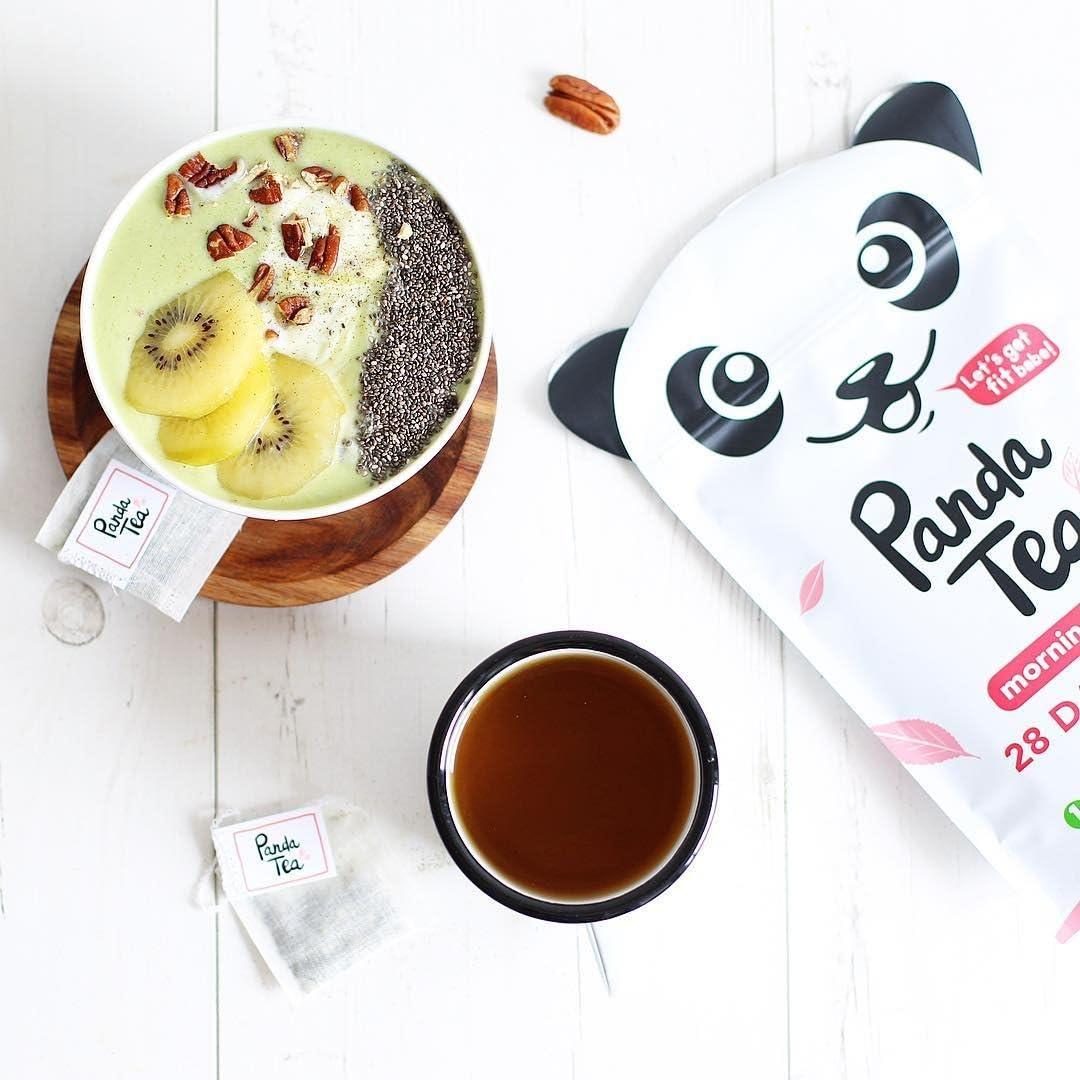 Panda Tea – Organic Cleanse Tea – Detox Tea – Slim Fit – 56 Tea Bags – 28-Day Slimming Detox – Weight Loss