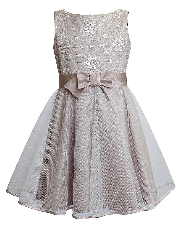 Unbekannt Unbekannt SLY Mädchen Kleid Fest Hochzeit Einschulung ...
