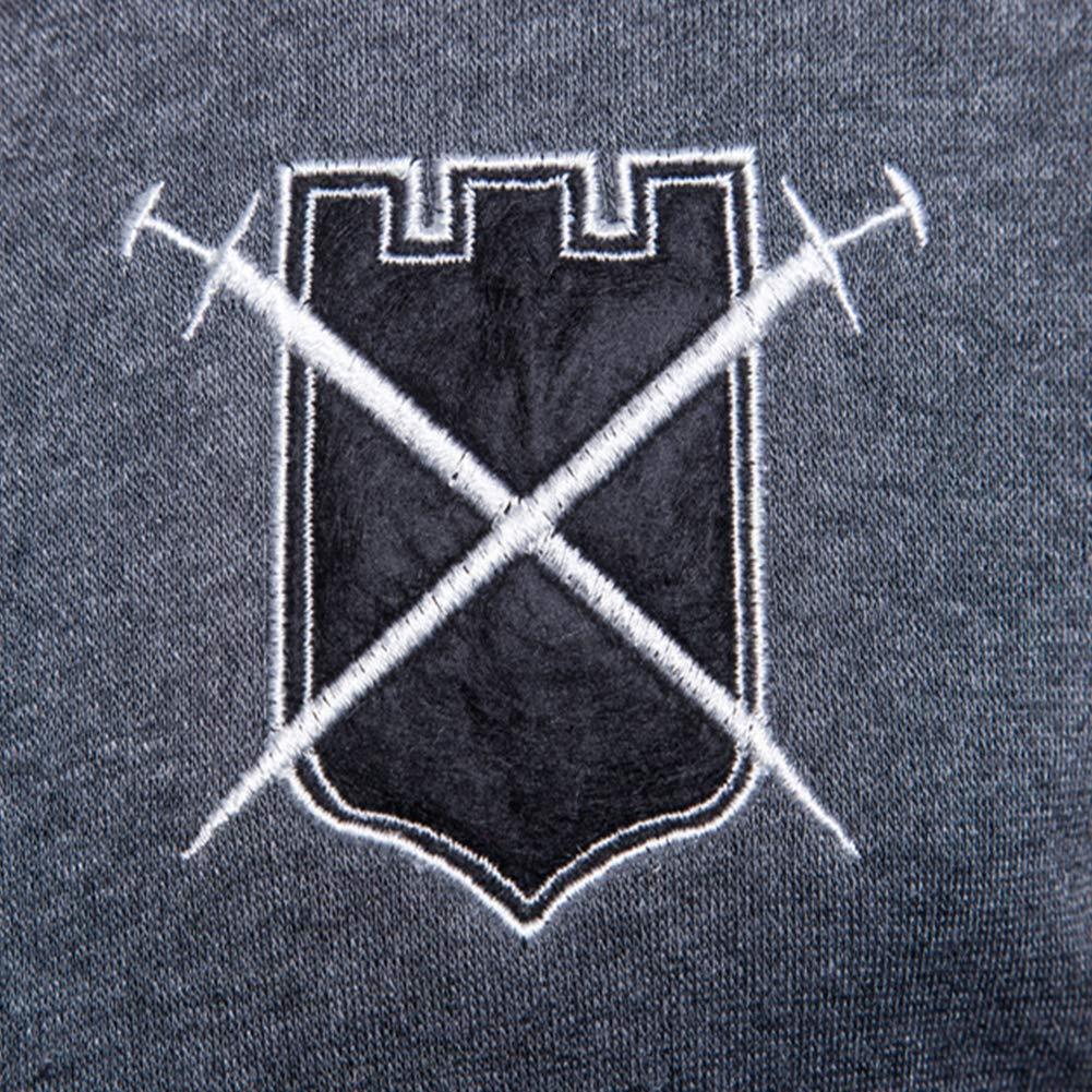Yiwa Men Casual Color-Matching Long Sleeve Zipper Jacket