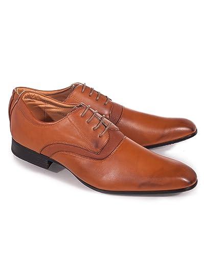 c27d15d62b6588 BLZ Jeans - Chaussures de ville couleur camel homme - Pointure : 44 Couleur  : Marron