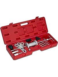 Neiko 02236A Automotive Slide Hammer Puller Set, Steel T-Handle and Chrome Vanadium Steel Attachment, 17-Piece
