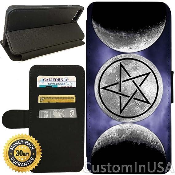 Amazon Flip Wallet Case For Iphone 7 Plus Moon Goddess Symbol