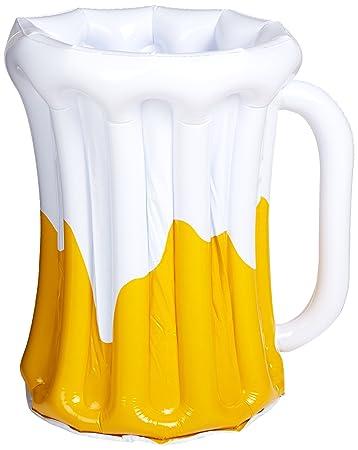 Beistle 57892 hinchable jarra de cerveza refrigerador, 18 ...