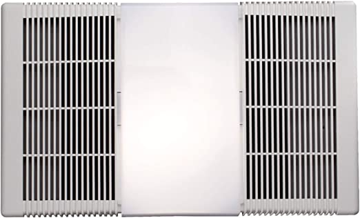 NUTONE 665RP 70 CFM Ceiling Exhaust Fan w//Light MISSING COVER /& HEATER