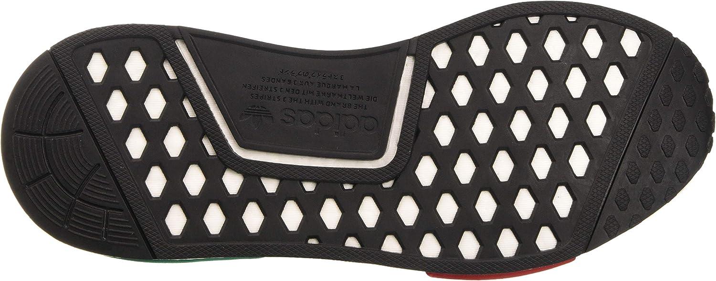 Adidas Herren NMD_r1 Sneaker Core Black Glory Green Lush Red