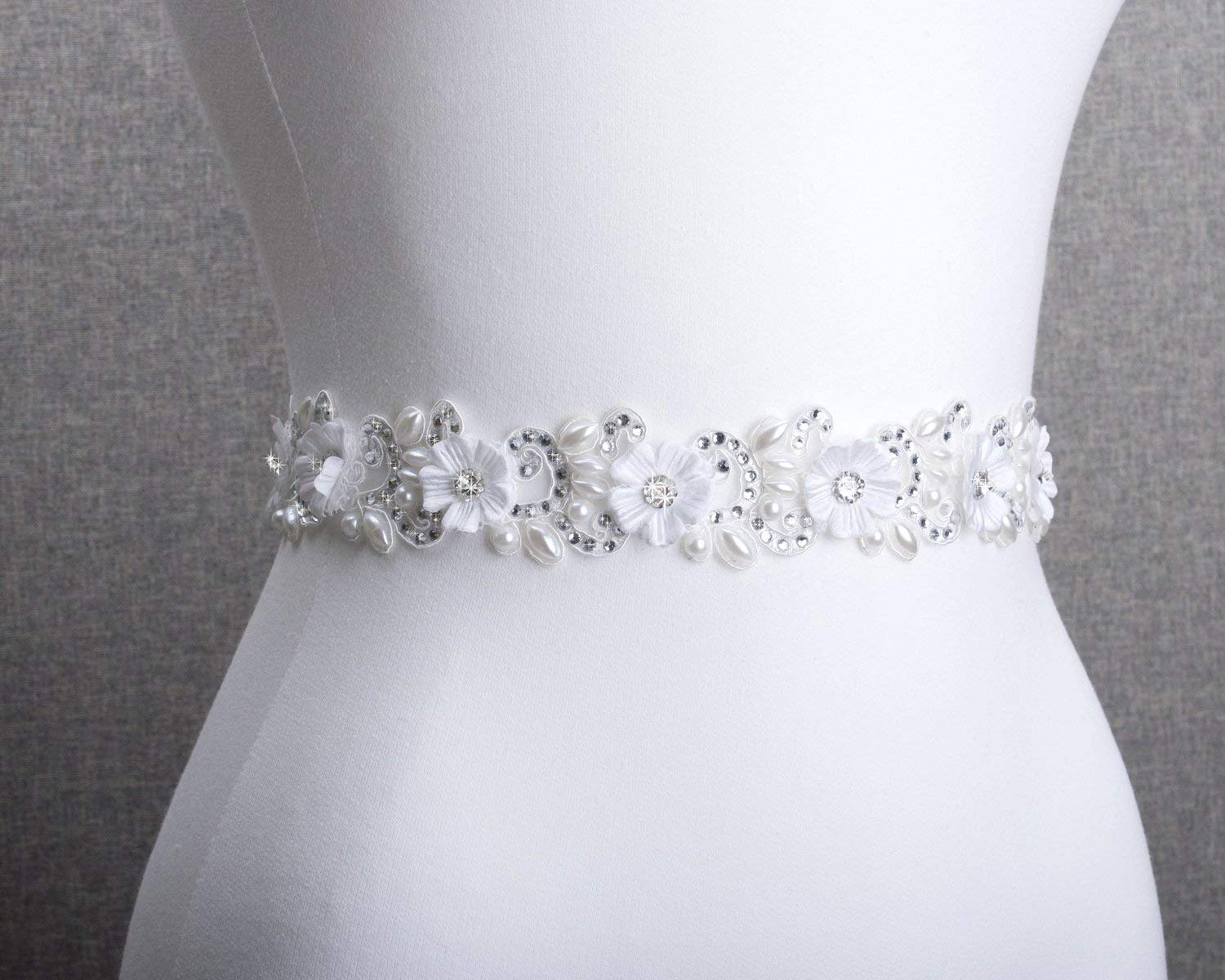 Amazon Com Wedding Sashes Bridal Belt Rhinestone Bridal Sash