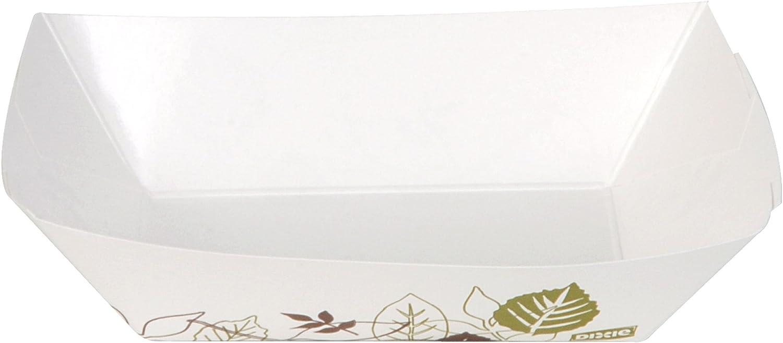Dixie KL200PATH Kant Leek Polycoated Paper Food Tray, Pathways,5x6.69x1.6, 2lb Cap,1000/Crtn