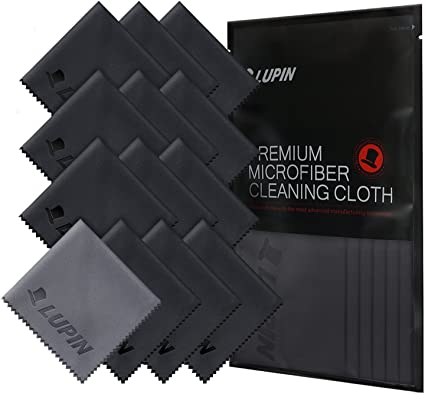1 MICROFIBER SUEDE Cleaning Polish Cloth for Ipad Tablet Phone Computer Screen