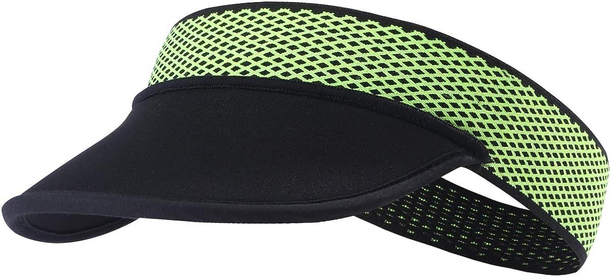 Tofern Visor Cap Kappe Unterziehm/ütze faltbar tragbar elastisch Sommer Laufen Tennis Angeln