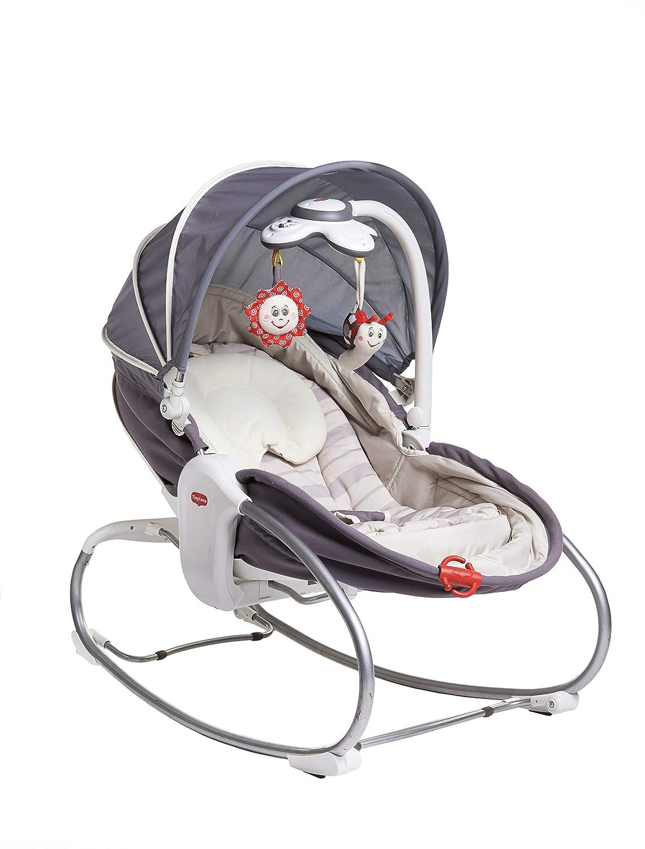 Tiny Love 3 in 1 Cozy Rocker - Balancín para bebé, Gris Dorel 2222180171