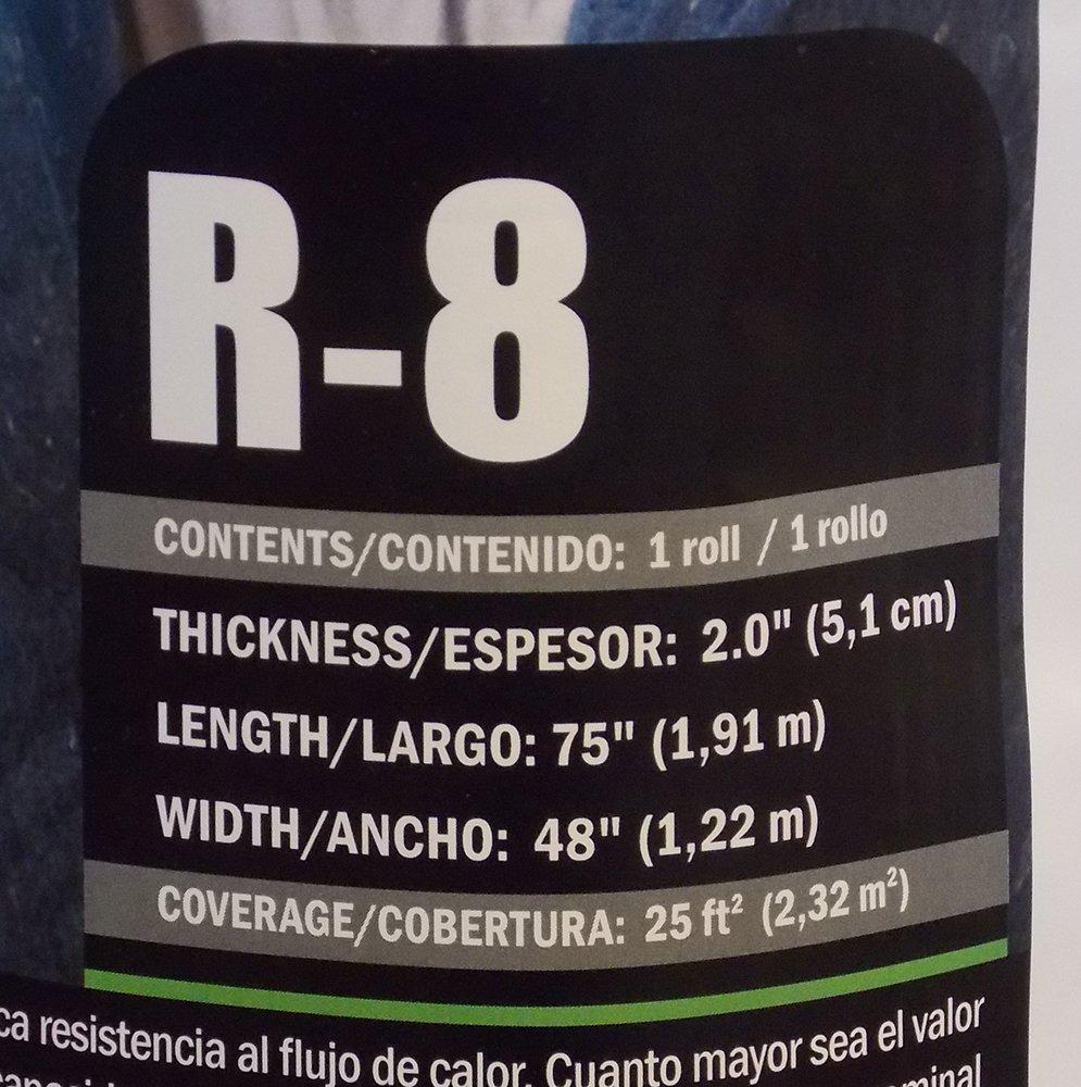 Applegate algodón Armor aislamiento R8 cara, algodón natural calentador de agua con aislamiento chaqueta: Amazon.es: Bricolaje y herramientas