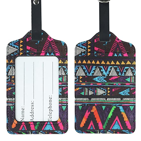 Africa Africa Luggage Tags Suitcase Labels Bag Travel Accessories Set of 2