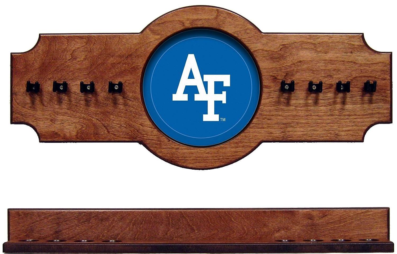 NCAA Air Force Falcons afacrr100-p 2 pc吊り壁プールキュースティックホルダーラック – Pecan B01GF4HNGS