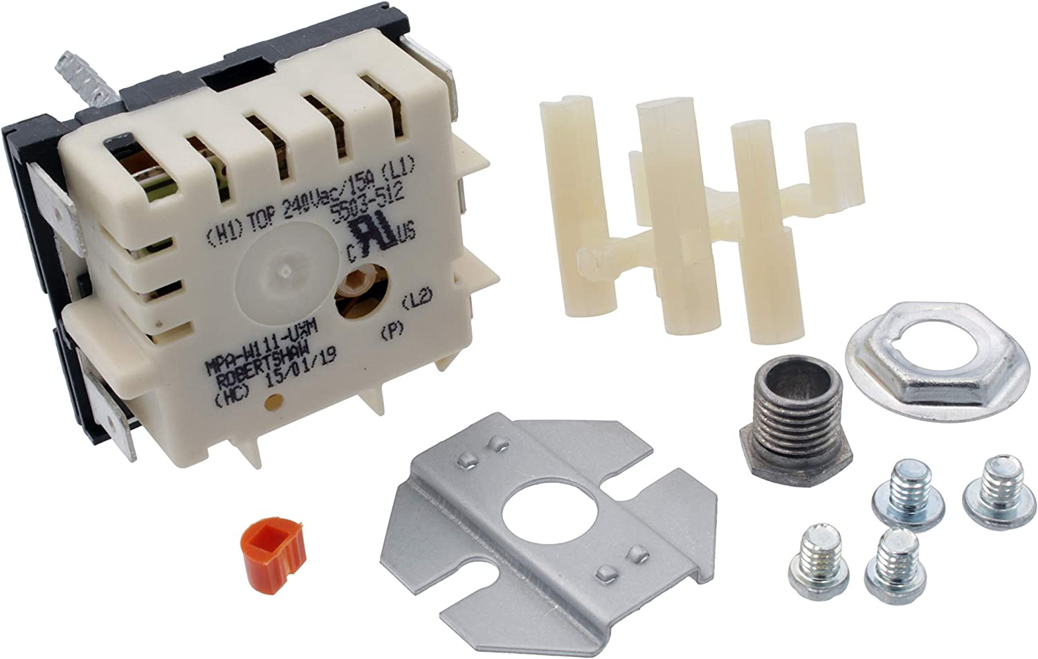 Supplying Demand WB21X5243 Range Surface Burner Switch Kit Compatible With GE Fits 2603, 301816