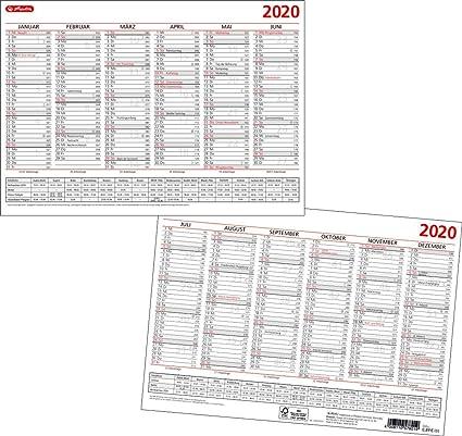 Calendario de mesa A4 2020, 1 unidad.: Amazon.es: Oficina y papelería