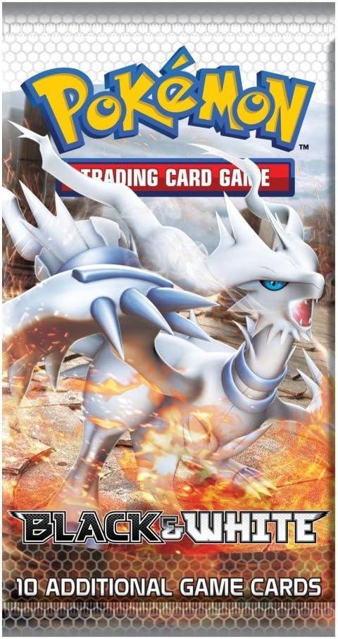 Juego de cartas Pokemon blanco y negro BW serie 1 Booster Pack [Toy]: Amazon.es: Juguetes y juegos