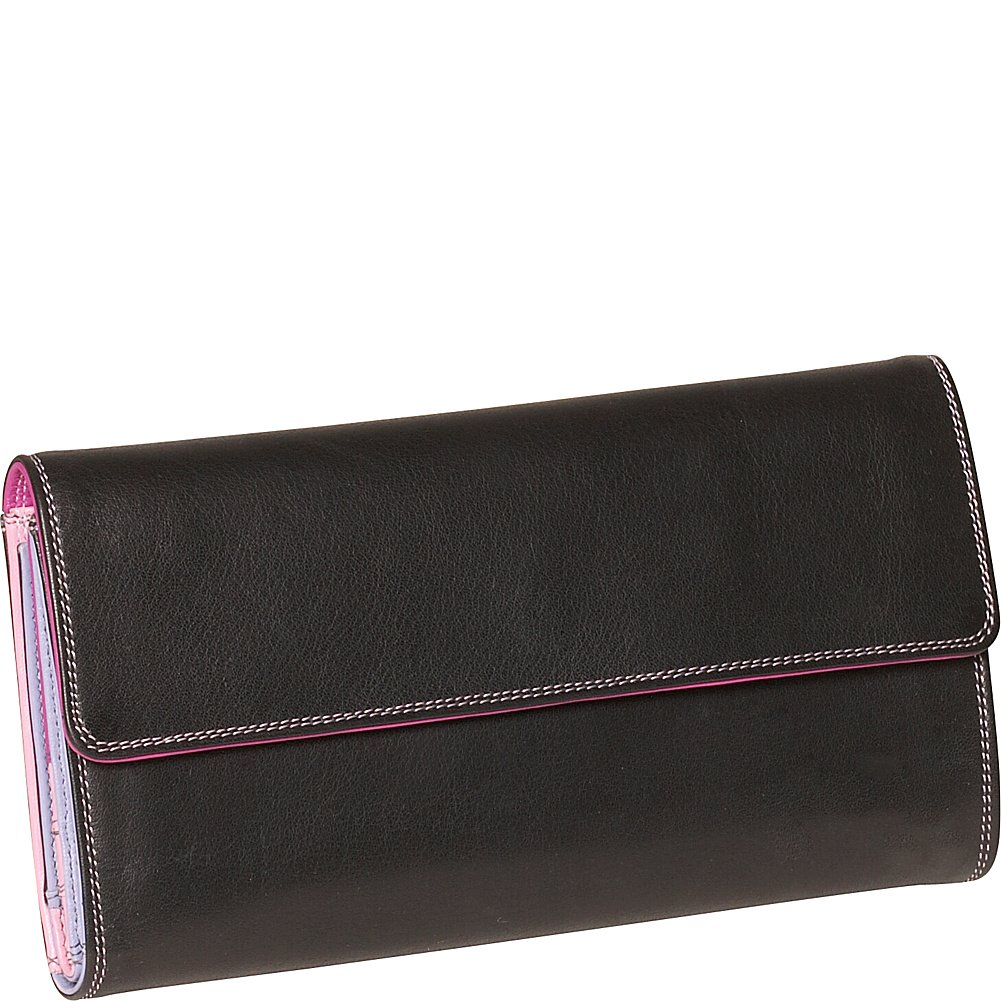 Derek Alexander Ladies 3-Part Checkbook Clutch 201522424