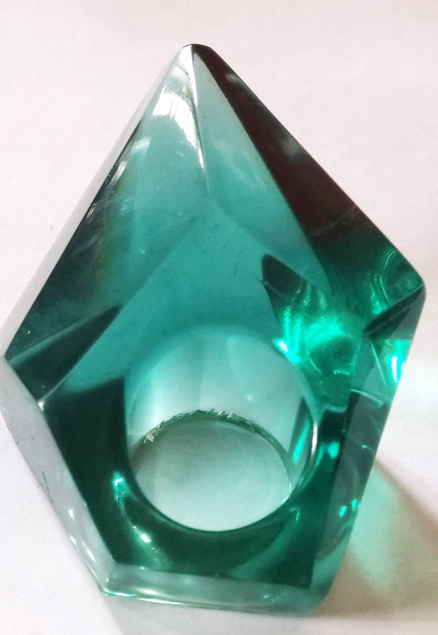 Huge Emerald Unique-Monies style Sexual Unisex Big Ring,Size (8)