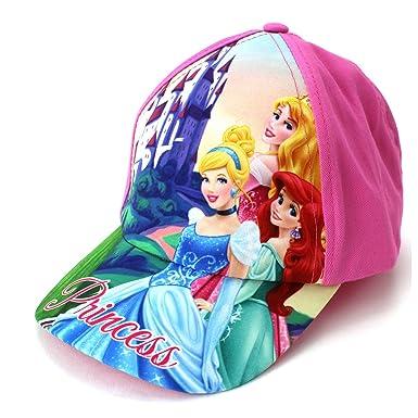 bda619b96c8 Amazon.com  Disney Princess Toddler Girls Baseball Cap Hat (Pink ...
