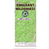 Emigrant Wilderness Trail Map (Tom Harrison Maps)