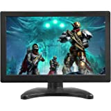 TOGUARD Portable Monitor 12 Inch TFT LCD HD 1366x768 Color Computer Monitor Display Screen with HDMI VGA MIC Port for PC…