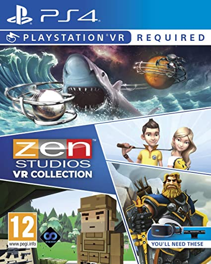 Zen Studios Ultimate VR Collection (PSVR) [Importación ...