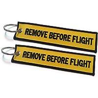 Remove Before Flight Llavero | Etiqueta de Equipaje