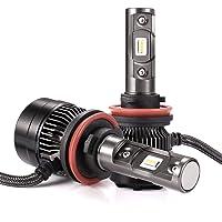Autlead 2 x H11 (H8, H9) LED Headlight Bulbs with 2 Year Warrenty