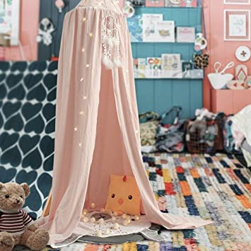 Kids Canopy Dome - Princess Play Tent for Children Boys Girls - Cotton Mosquito Net Decoration & Kids Canopy Dome - Princess Play Tent for Children Boys Girls ...
