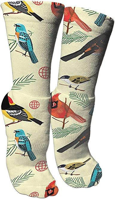 Decorative PatternCrazy Socks Casual Cotton Crew Socks Cute Funny Sock Great For Sports And Hiking